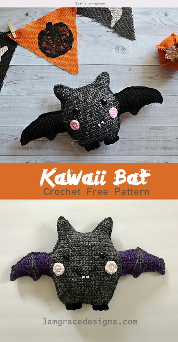 Spooky Batty Bat Crochet Free Pattern