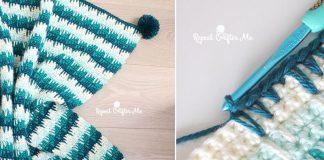 Crochet Spike Stitch Blanket Free Pattern