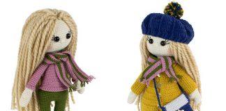 Amigurumi Doll Free Crochet Pattern