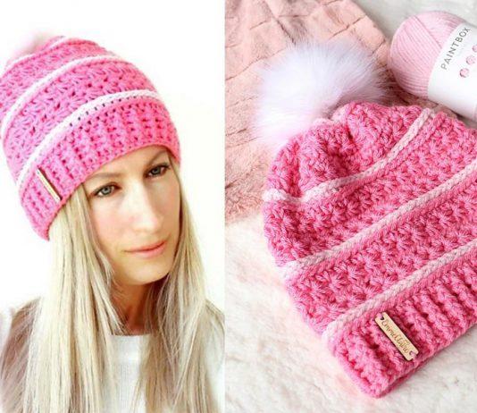 Sweetpea Slouch Hat Free Crochet Pattern