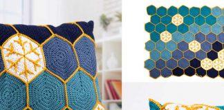 Starry Night Blanket & Cushion Set Crochet Free Pattern
