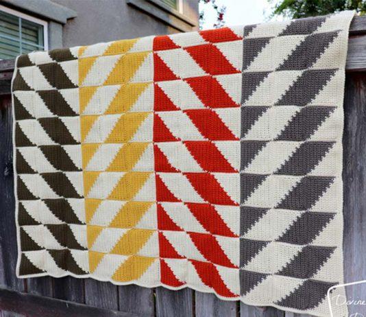 Big Quilt Energy Blanket Crochet Free Pattern