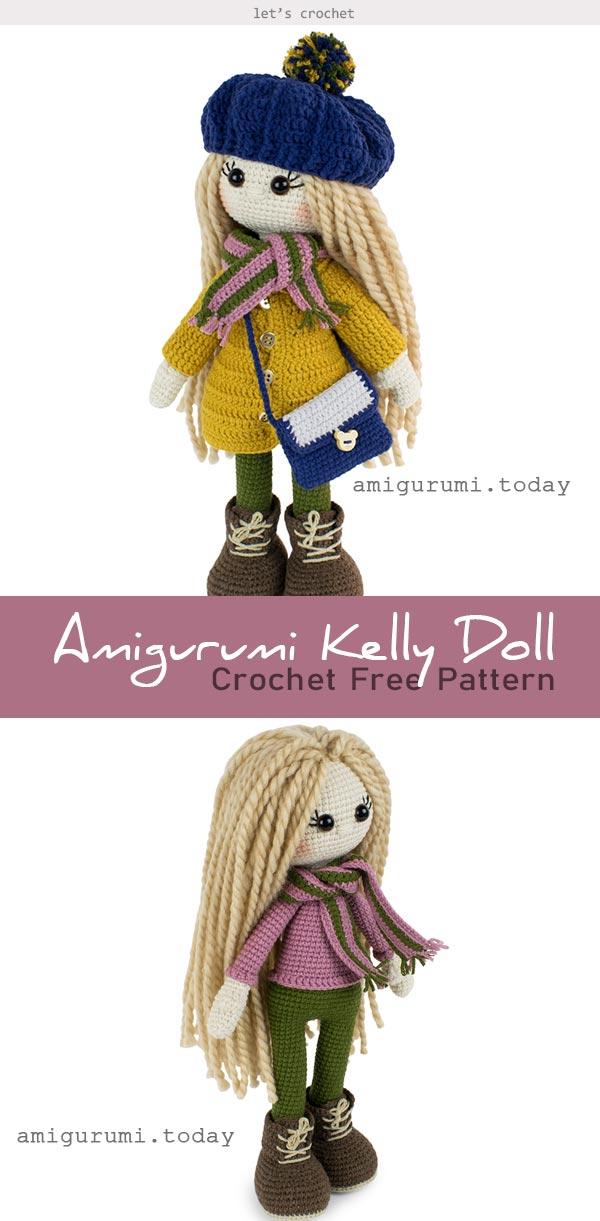 Amigurumi Doll Free Pattern | 1221x600