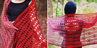 Provenance Wrap Crochet Free Pattern