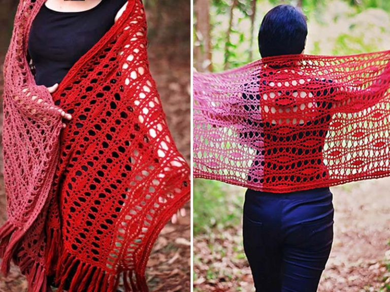 Provenance Wrap Crochet Free Pattern