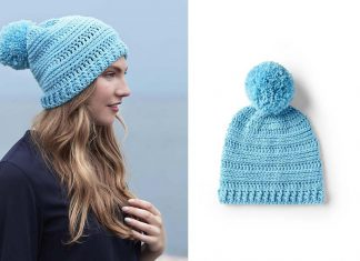 Warmth Horizon Hat Crochet Free Pattern
