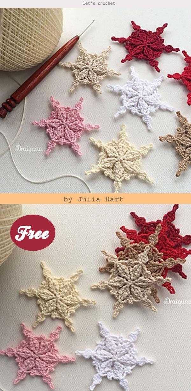 Snowflake Crochet Free Pattern