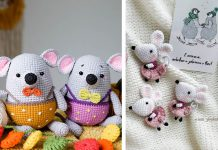 Piu the mouse Free Crochet Pattern