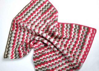 Sleepy Blocks Blanket Free Crochet Pattern