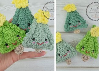 Ragdoll Christmas Tree Free Crochet Pattern