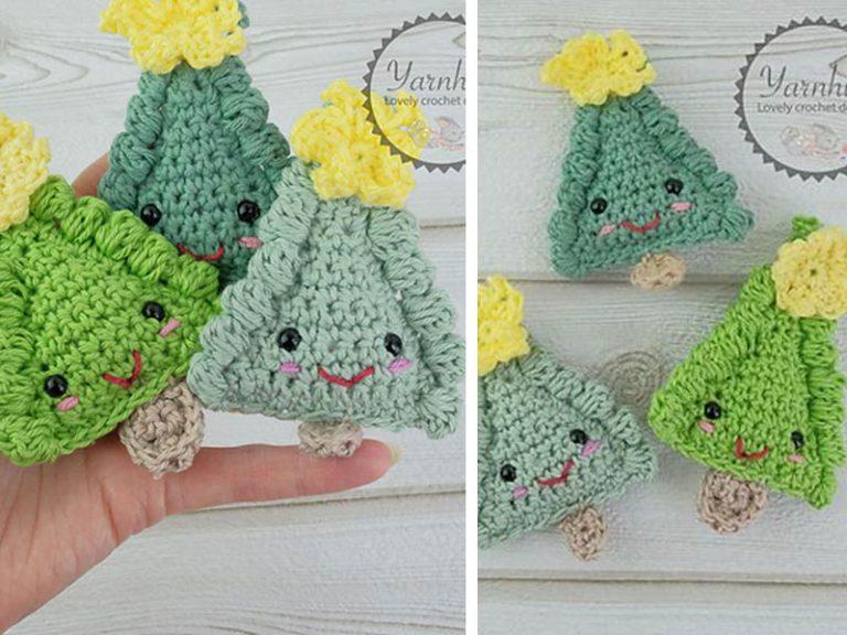 Ragdoll Christmas Tree Free Crochet Pattern