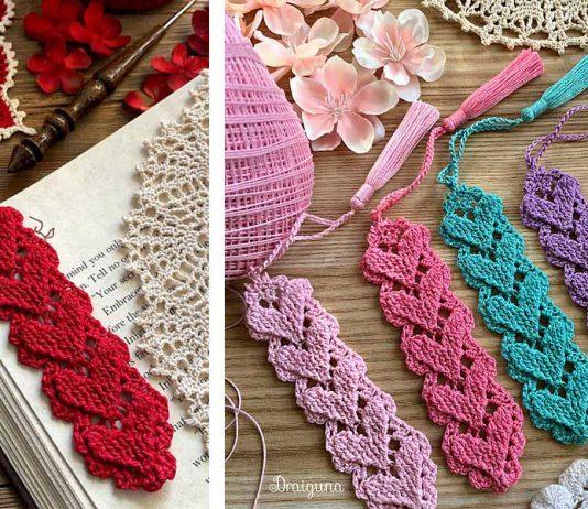 Crochet Higher Love Bookmark Free Pattern