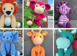 Safari Animal Amigurumi Free Crochet Pattern