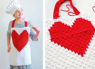 Child Apron Free Crochet Pattern