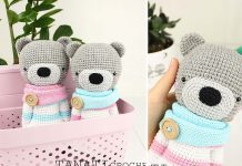 Toy Bear Free Crochet Pattern