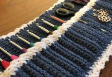 Around the Square Case Free Crochet Pattern