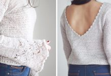 Valentina Sweater Top Free Crochet Pattern