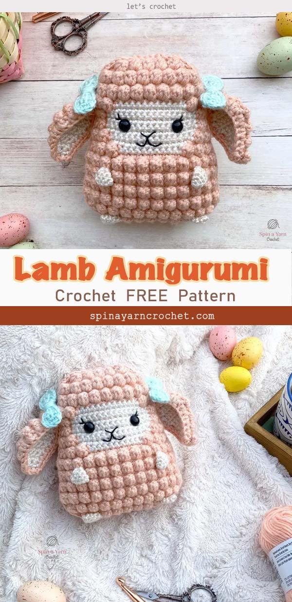 Lamb Amigurumi Crochet Free Pattern