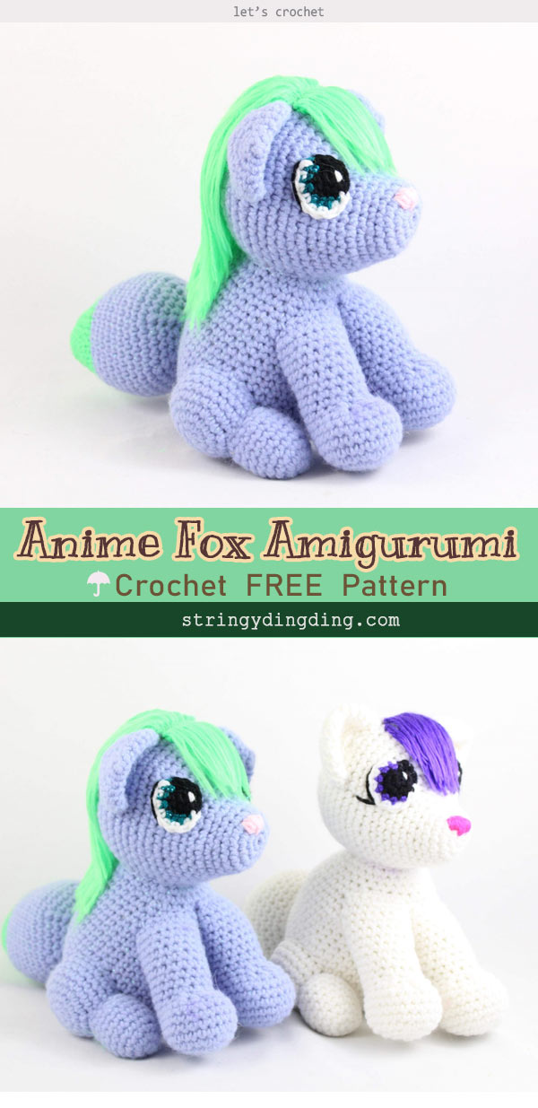 Crochet patterns free amigurumi anime 24+ Ideas #Amigurumi Anime ... | 1235x600