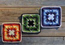 Square Nomad Free Crochet Pattern