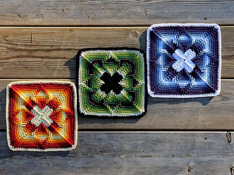 Square Nomad Free Crochet Pattern