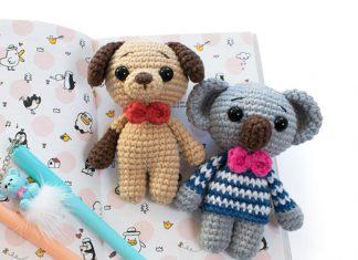 Amigurumi Tiny Koala Crochet Free Pattern
