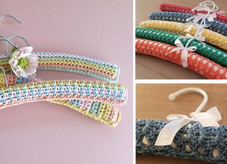 Candyfloss Clothes Hangers Free Crochet Pattern