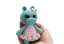 Crochet Hippo Amigurumi Free Pattern