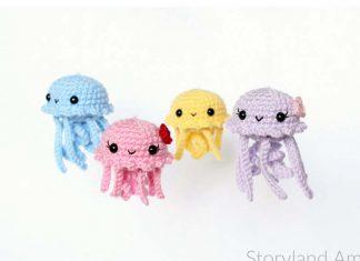 Crochet Baby Jellyfish Amigurumi Free Pattern