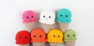 Ice Cream Amigurumi Free Crochet Pattern