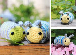 Chip the Caterpillar Free Crochet Pattern