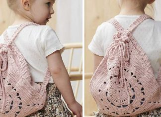 Summer Backpack Free Crochet Pattern