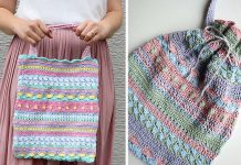 Summerstripes Bag Free Crochet Pattern