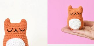 Tiny Cat Amigurumi Free Crochet Pattern