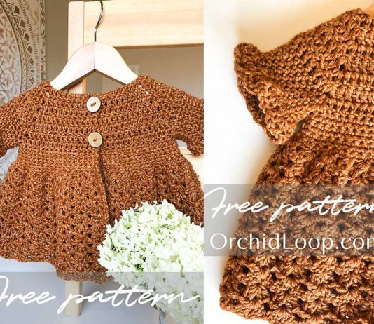 Kid Mila Sweater Free Crochet Pattern