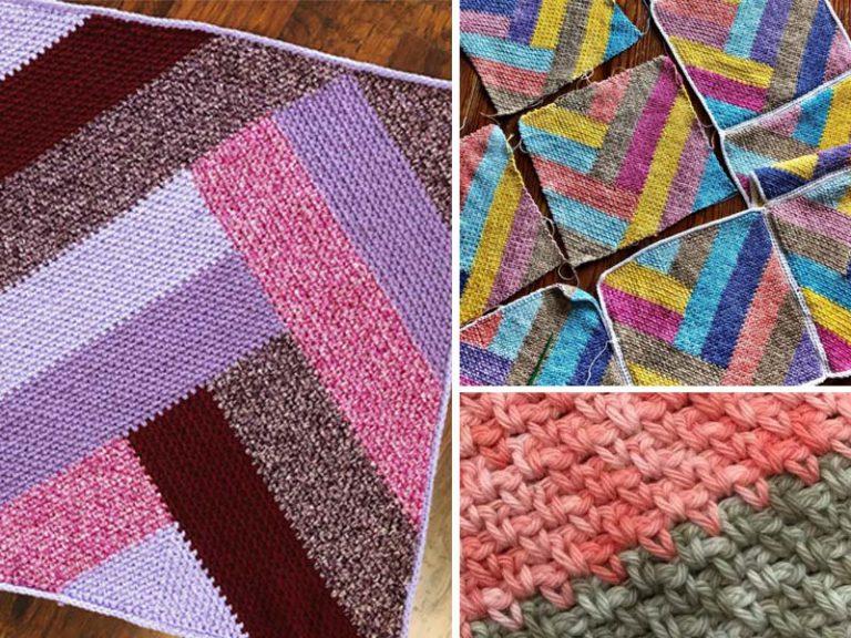 French Braid Blanket Free Crochet Pattern