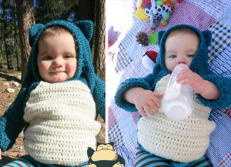 Snorlax Hoodie Mod For Baby Free Pattern