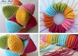 Star Ball – A Crochet Amish Puzzle Ball Free Pattern