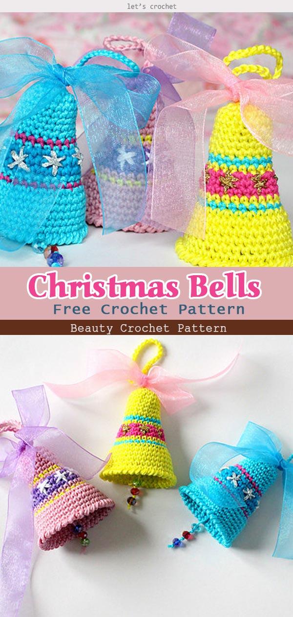 Christmas Bells Free Crochet Pattern