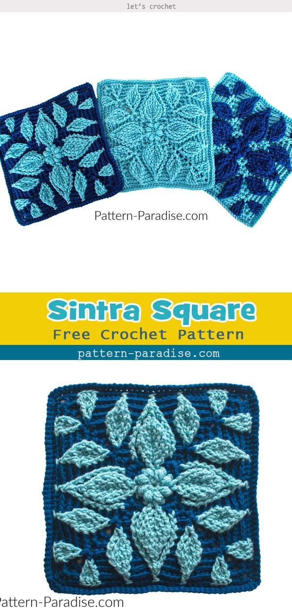 Sintra Square Free Crochet Pattern