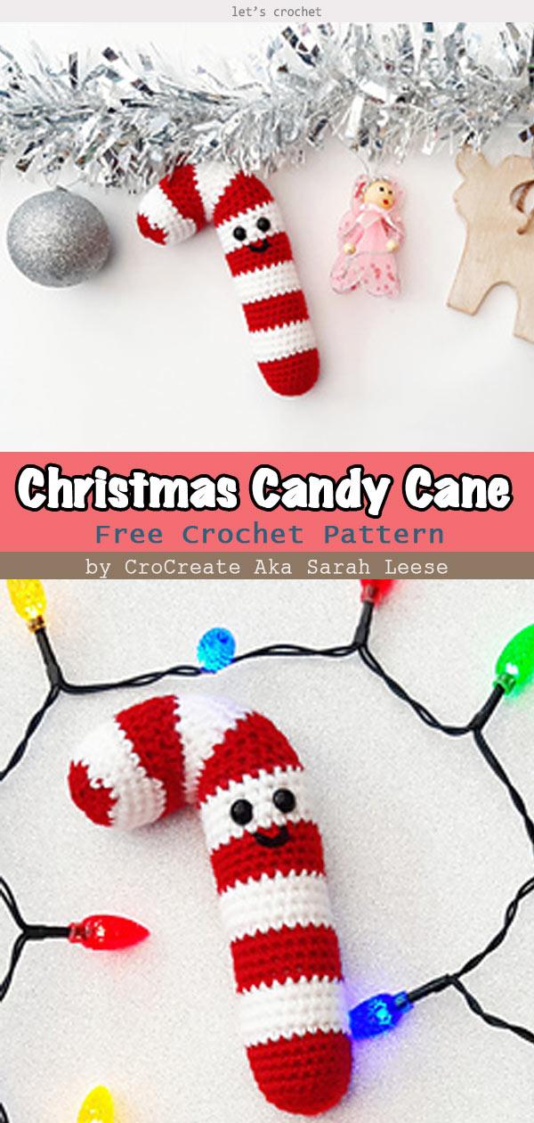 Amigurumi Candy Cane Free Pattern