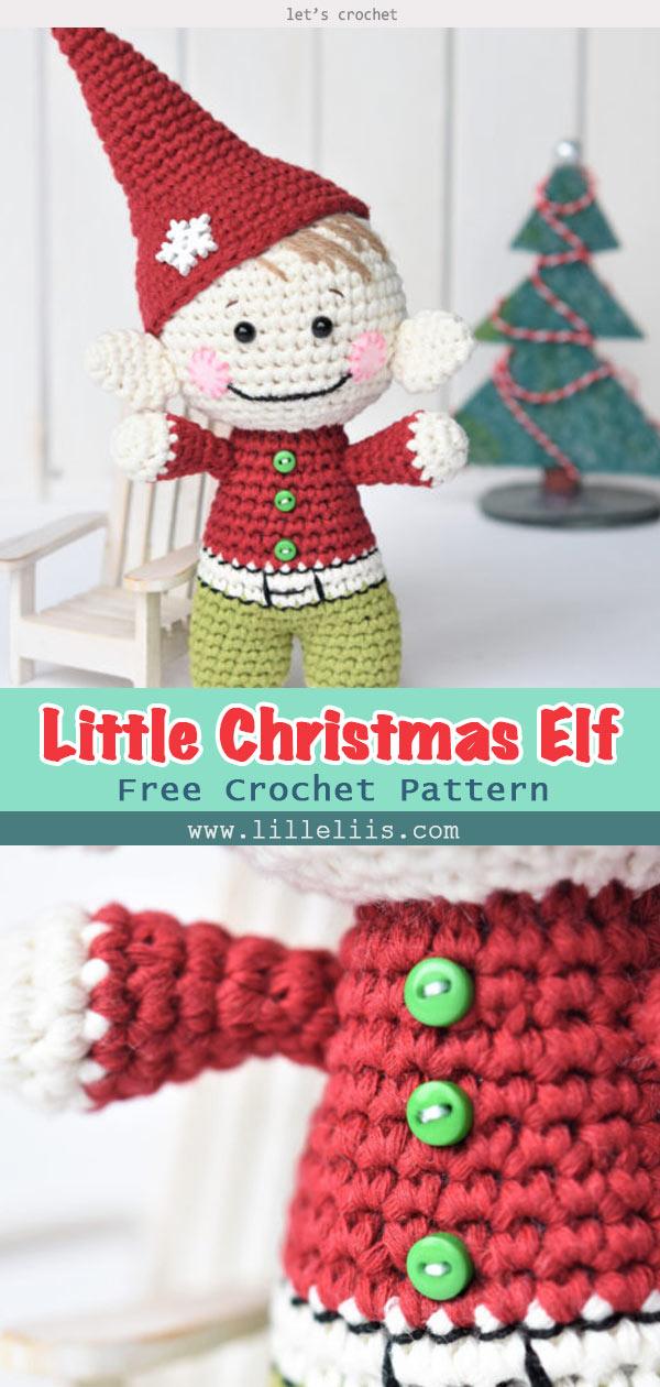 Little Christmas Elf Crochet Free Pattern