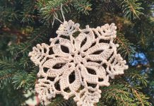 The 7 Christmas Snowflake Free Crochet Pattern