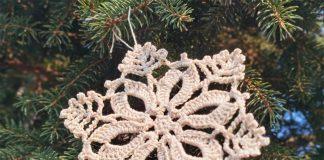 The 7 Christmas Snowflake Free Crochet Pattern