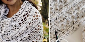 Bonfire Wrap Crochet Free Pattern