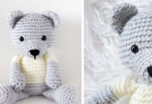 Crochet Teddy Bear – Free Pattern