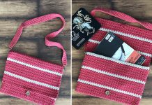 Messenger Bag Free Crochet Pattern
