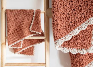 Simple Memories Blanket Free Crochet Pattern