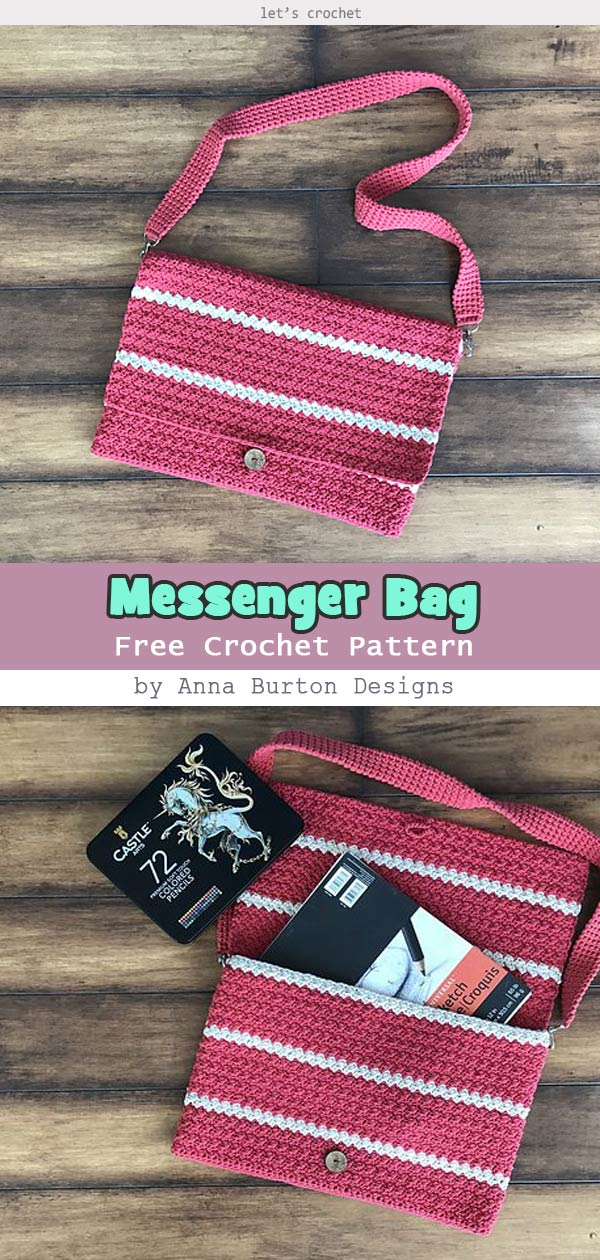 Messenger Bag Free Crochet Pattern