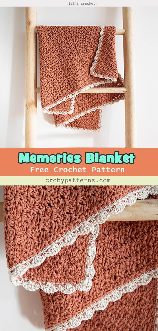 Simple Memories Blanket Free Crochet Pattern